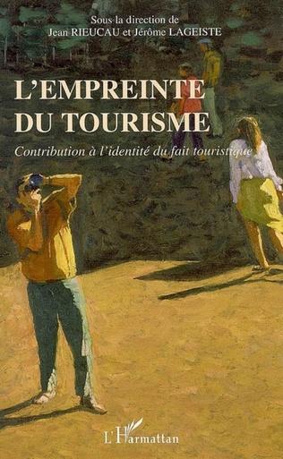 Couverture L'empreinte du tourisme