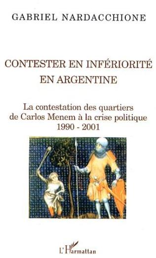Couverture Contester en infériorité en Argentine