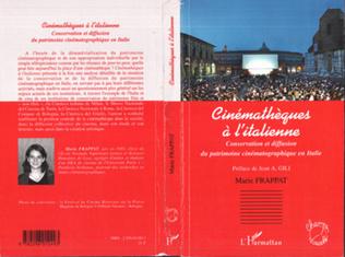 Couverture Cinémathèques à l'italienne