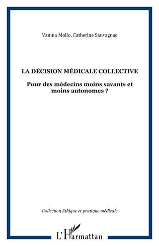 Couverture La décision médicale collective