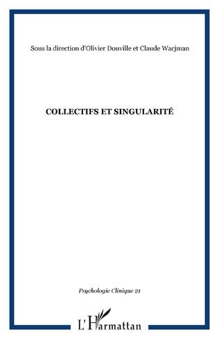 Couverture Collectifs et singularité
