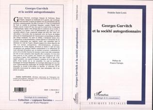 Couverture Georges Gurvitch et la société autogestionnaire