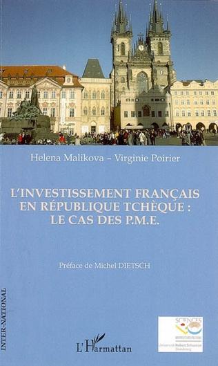 Couverture L'investissement français en République Tchèque