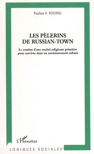 Couverture Les pèlerins de Russian-Town