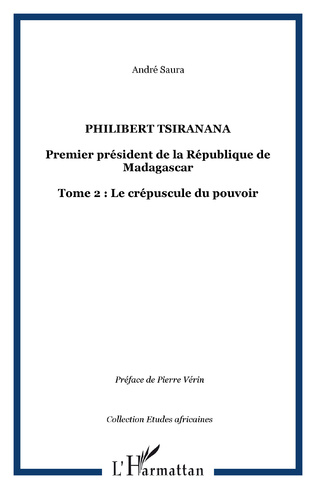 Couverture Philibert Tsiranana