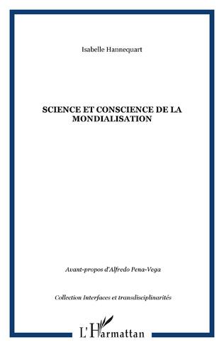 Couverture Science et conscience de la mondialisation