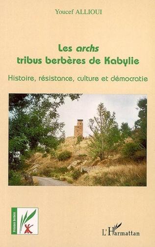 Couverture Les archs tribus berbères de Kabylie