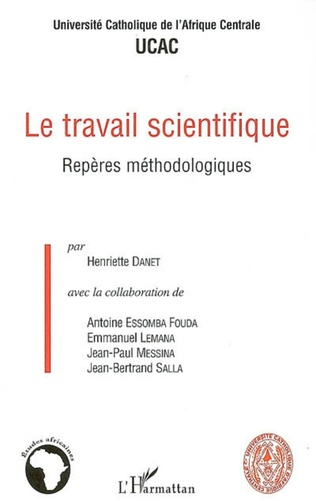 Couverture Le travail scientifique