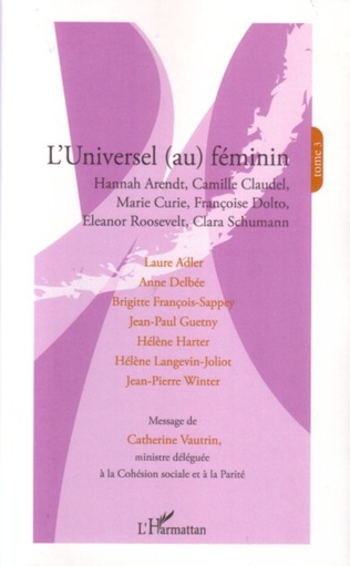 Couverture L'universel (au) féminin