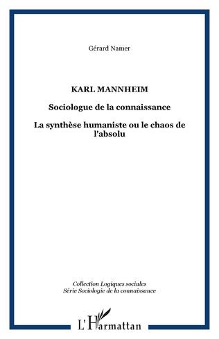 Couverture Karl Mannheim
