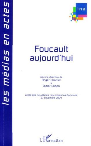 Couverture Foucault aujourd'hui
