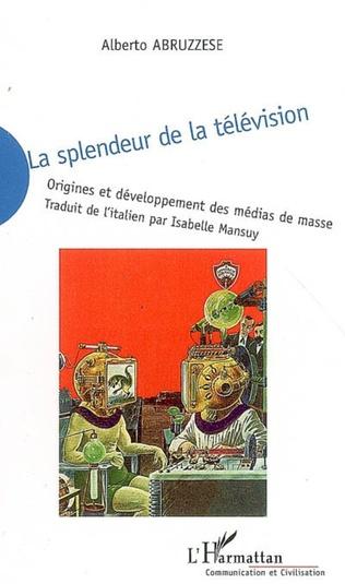 Couverture La splendeur de la télévision