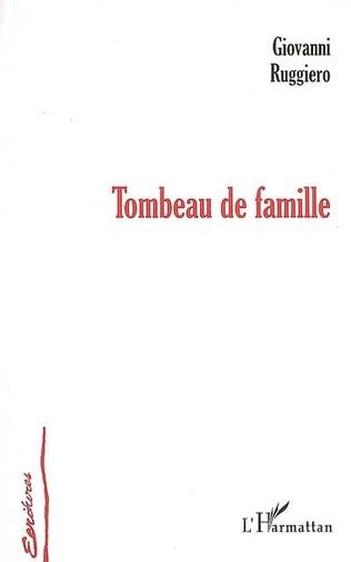 Couverture Tombeau de famille