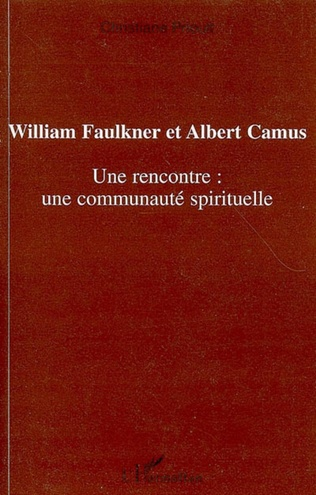 Couverture William Faulkner et Albert Camus