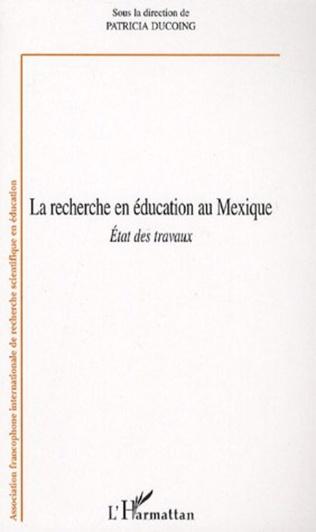 Couverture La Recherche en éducation au Mexique