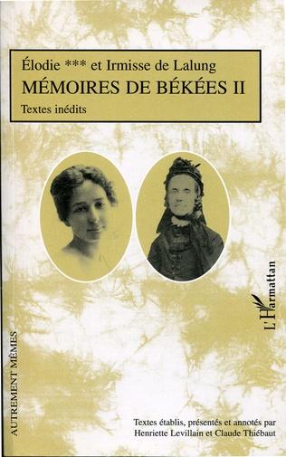 Couverture Mémoires de Békées II