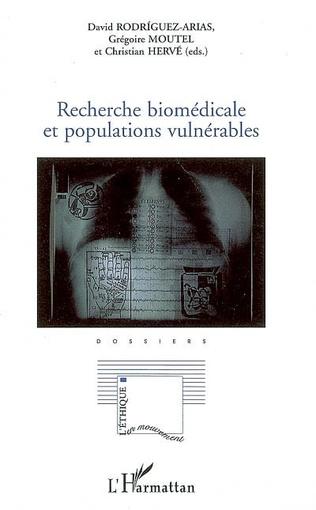 Couverture Recherche biomédicale et populations vulnérables