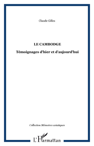 Couverture Le Cambodge