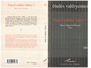 Couverture Faut-il oublier Valéry ?