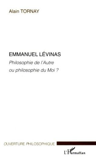 Couverture Emmanuel Lévinas