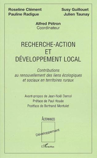 Couverture Recherche-action et développement local