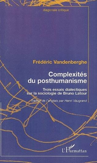 Couverture Complexités du posthumanisme