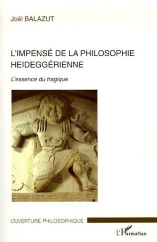 Couverture L'impensé de la philosophie heideggérienne