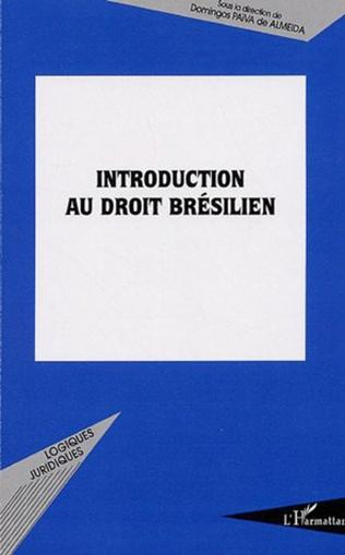 Couverture Introduction au droit brésilien