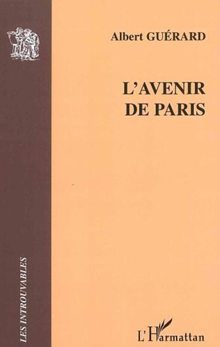 Couverture L'avenir de Paris