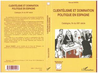 Couverture Clientélisme et domination politique en Espagne