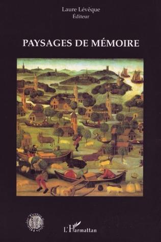 Couverture Paysages de mémoire