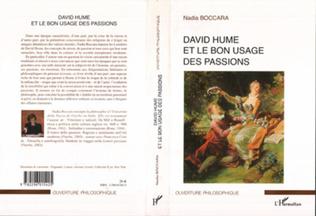 Couverture David Hume et le bon usage des passions