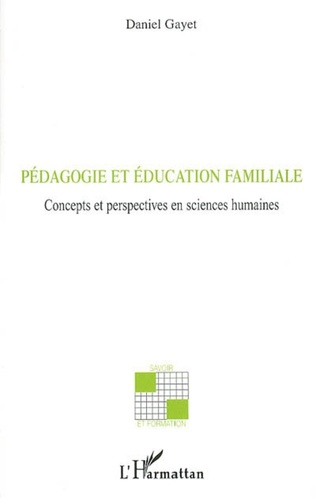 Couverture Pédagogie et éducation familiale