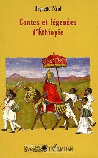 Couverture Contes et légendes d'Ethiopie