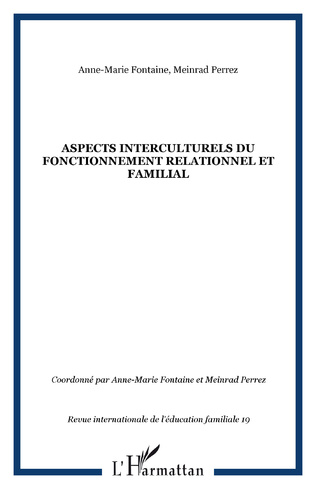 Couverture Aspects interculturels du fonctionnement relationnel et familial