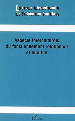 Couverture Aspects interculturels du fonctionnement relationnel et familial