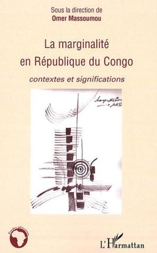 Couverture La marginalité en république du Congo