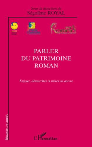Couverture Parler du patrimoine roman