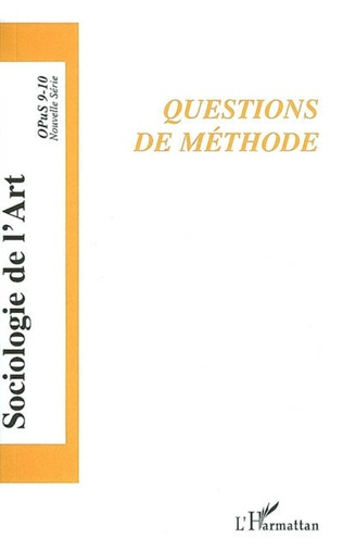 Couverture Questions de méthode