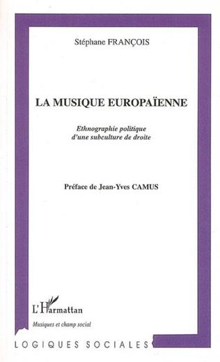 Couverture La musique europaïenne