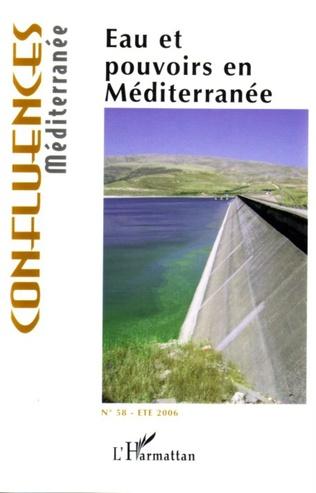 Couverture Eau et pouvoirs en Méditerranée