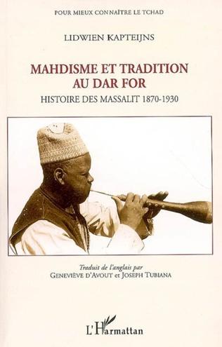 Couverture Mahdisme et tradition au Dar For