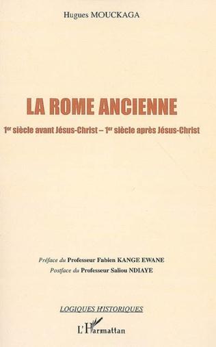 Couverture La Rome ancienne
