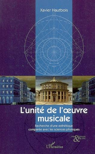 Couverture L'unité de l'oeuvre musicale