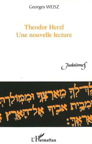 Couverture Theodor Herzl