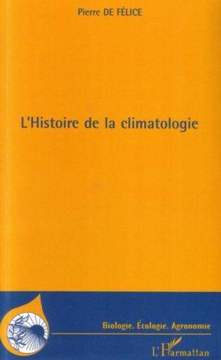 Couverture L'histoire de la climatologie