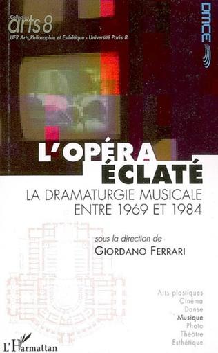Couverture L'opéra éclaté