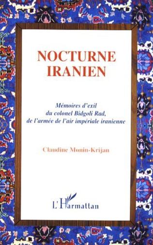 Couverture Nocturne iranien