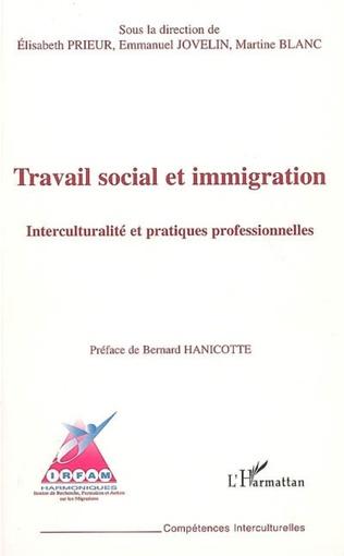 Couverture Travail social et immigration