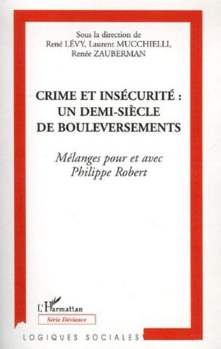 Couverture Crime et insécurité